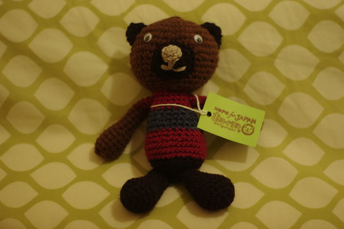 Kuma the bear - amigurumi #38