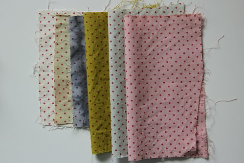 summer dyeings palette - cotton
