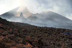 The incredible creations of Etna's New Southeast Crater (etnaboris) Tags: italy volcano lava needle sicily etna eruption pinnacle thegreatestshowonearth 2011 paroxysm newsoutheastcrater
