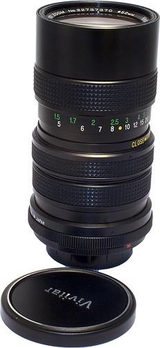 Vivitar 70-150mm f/3 8 Close Focusing Auto Zoom - Camera