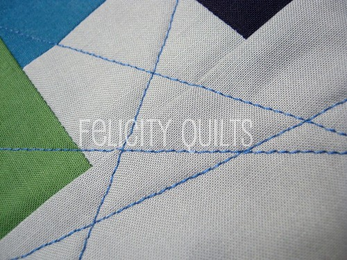 FTLOS pouch quilting detail