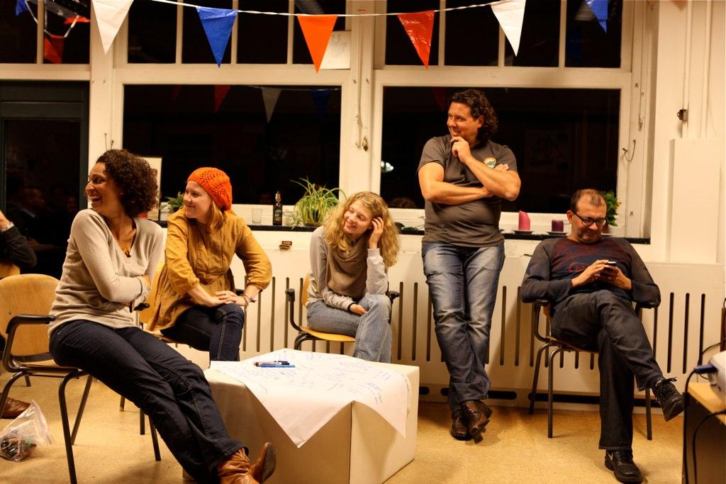 Knowmads brainstorm - Amsterdam