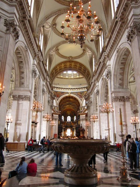 St. Paul's Cathedral inside
