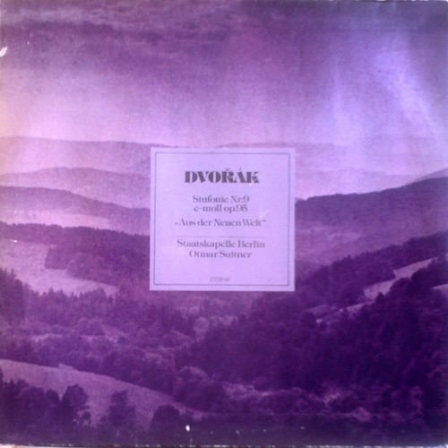 DE ETERNA 827103 - SUITNER DVOŘÁK SYMPHONY No.9