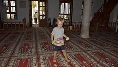 Inside the mosque in Bodrum (AroundtheWorldwithKid) Tags: turkey asia europe mediterranean raw australia queensland rtw noosaheads oceania aegeansea travelwithchildren travelwithkid turkeyriviera australiaeasterncoast