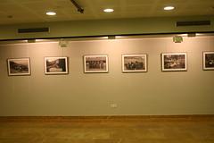 Cuadros de la exposición situados en Lobiano