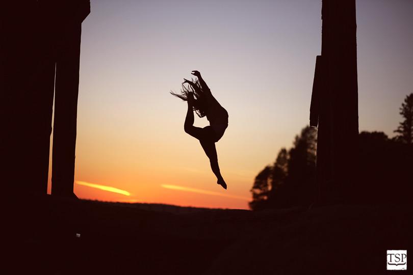 Ballet Silhouette Senior Portrait