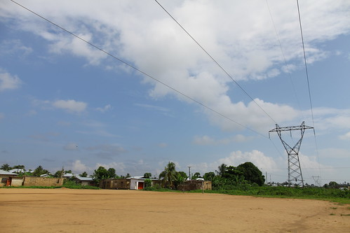 Site of new power lines for MCC energy project