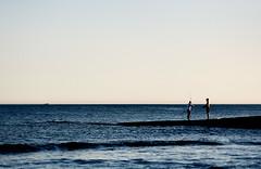 1957 (lanier67) Tags: desktop light sunset sea summer wallpaper sky sun man color colour men praia beach portugal water de evening pier boat fishing focus dof background wave quay diana dos rod algarve pera beijinhos armacao