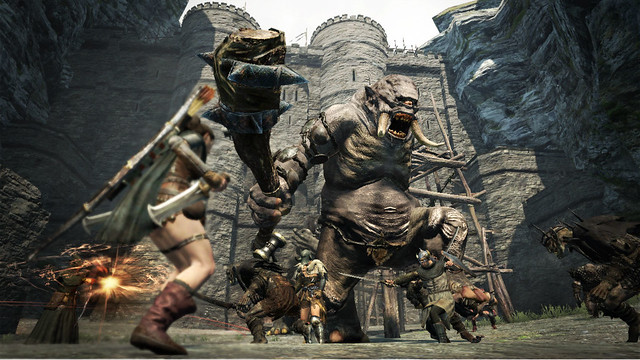 Shoot A Cyclops In Its One Eye In New Dragon's Dogma TGS Trailer (9)