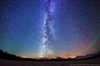 BiG starry night sky