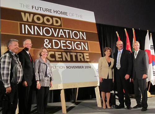 Wood Innovation Centre will create jobs for generations