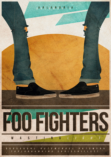 Poster - Foo Fighters - Arlandria