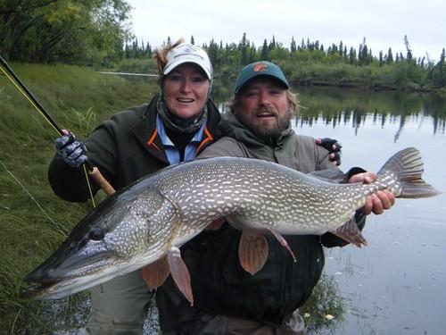 Pike Fishing in Alaska