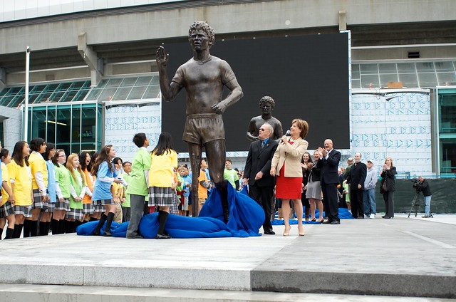 Terry Fox Memorial unveiling