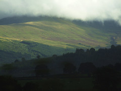Weather in Wales (glantine) Tags: light sun weather fog southwales wales wow jw wonder landscape miracle couleurs cymru explore welsh paysage chiaroscuro brouillard rollinghills hfholidays galles 2011 sept18 mfleurangelamothe interestingness161 i500 interestingness434sept182011