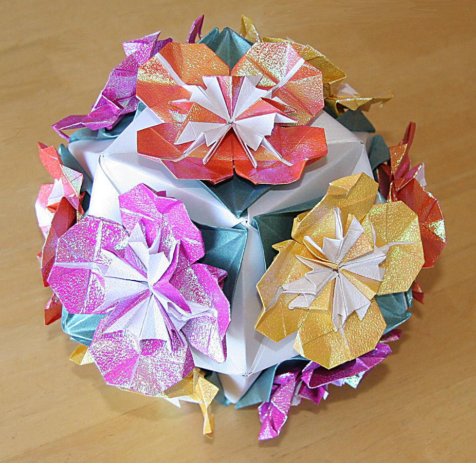 Leaf-Flower Sonobe : Fully Flowered