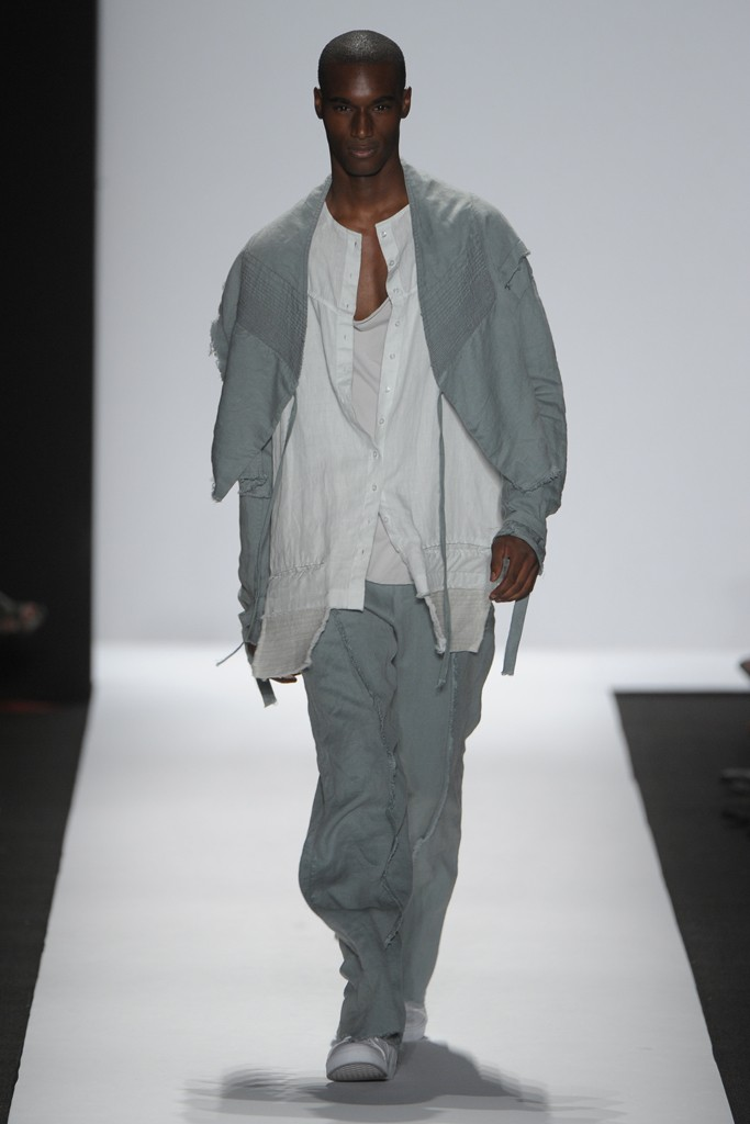 SS12 New York Academy of Art University009_Corey Baptiste(Homme Model)