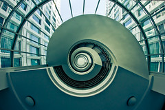 (Philipp Gtze) Tags: stair treppe staircase spaceship rosaluxemburg
