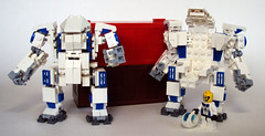 Kodiak 01 (OrangeKNight) Tags: canada lego hard canadian arctic suit mecha mech hardsuit