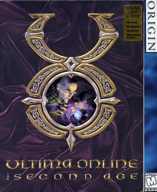 Ultima Online: The Second Age (Box Front)