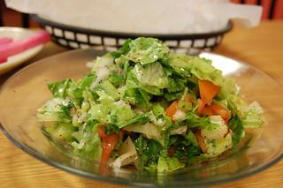 food salad kababg