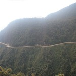 "World's Most Dangerous Road <a style=""margin-left:10px; font-size:0.8em;"" href=""http://www.flickr.com/photos/14315427@N00/6161544908/"" target=""_blank"">@flickr</a>"