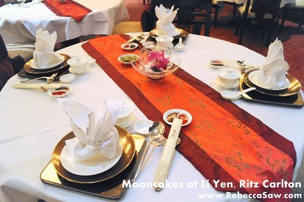 Li Yen, Ritz Carlton - Mooncakes & dim sum-0