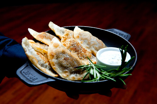 Shortrib pot stickers