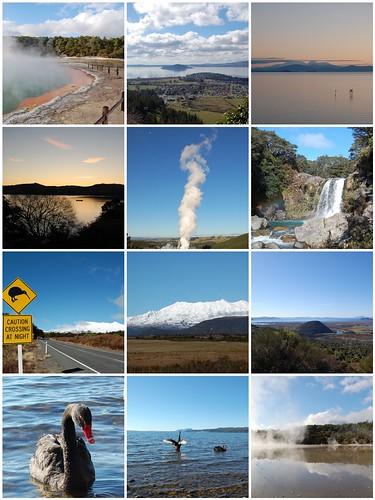 Taupo, Rotorua and Tongariro National Park