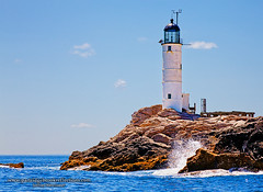 White Island Lighthouse (Jeff Newcomer) Tags: island newhampshire atlanticocean starisland islesofshoals mainesummer