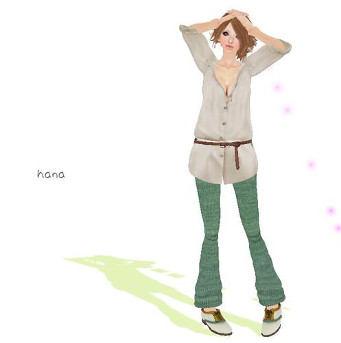 :pesca:relax pants green(LB ver.)