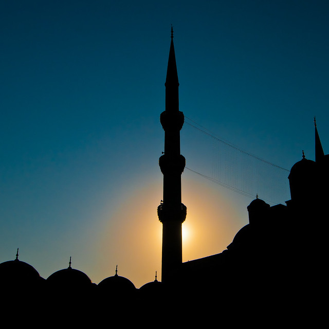 Sunrise at the Blue Mosque