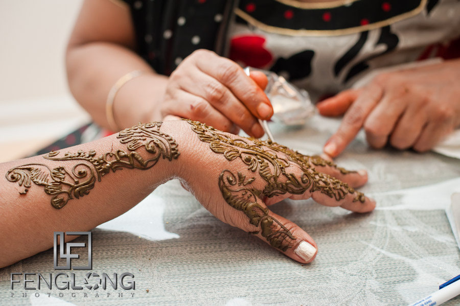 Mehndi Party List : Amir nasrine s wedding day mehndi henna party