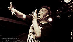 Jello Biafra and the Guantanamo School of Medicine (_softblackstar_) Tags: ireland blackandwhite bw blackwhite concert punk live cork gig dk deadkennedys jellobiafra cyprusavenue lastfm:event=2020230