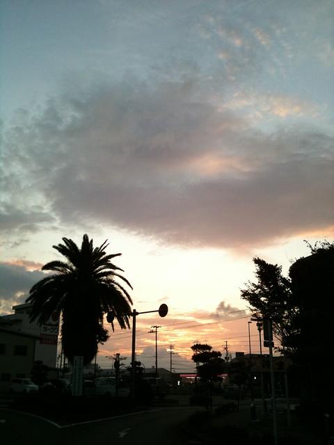 おはようニッポン 本州最南端の町から 風が強め
