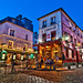 Beautiful evening in Montmartre | Le Consultat and La Bonne Franquette Restaurant | davidgiralphoto.com by David Giral | davidgiralphoto.com