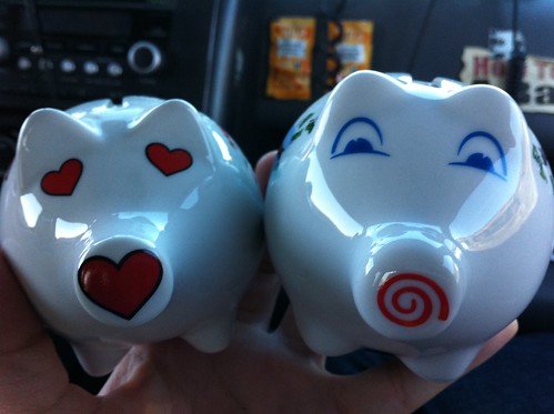 WA and OR Ceramic Pigs!