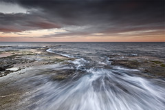 After the Storm II (Final) (DavidFrutos) Tags: costa seascape beach water rock clouds landscape coast agua rocks waves silk wave playa paisaje alicante filter lee nubes nd alfa filters drama olas seda roca rocas ola torrevieja filtro sigma1020mm filtros gnd a700 neutraldensity sonydslr densidadneutra davidfrutos 700 cabocervera singhraygalenrowellnd3ss