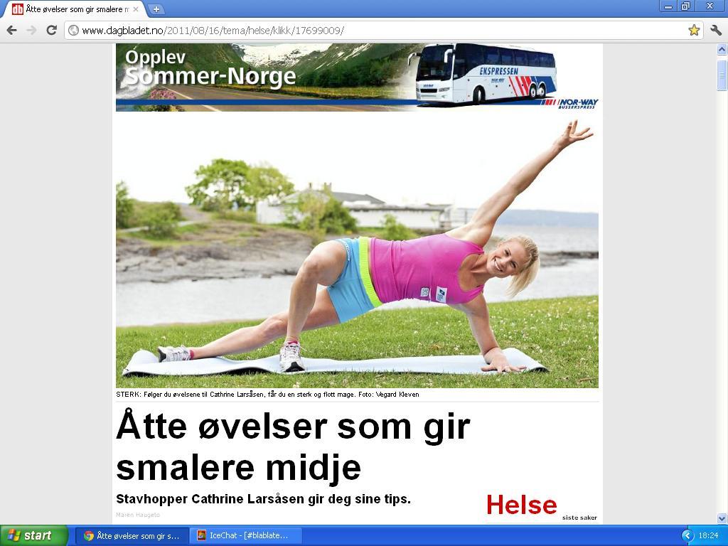 svensk dame fingrer lukte vondt