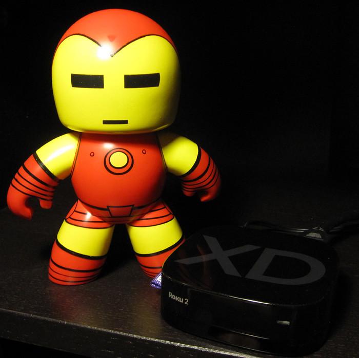 194/365 - Iron Man And The Roku 2 XD
