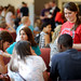 CHASS students get to know each other during the College's Wolfpack Welcome.