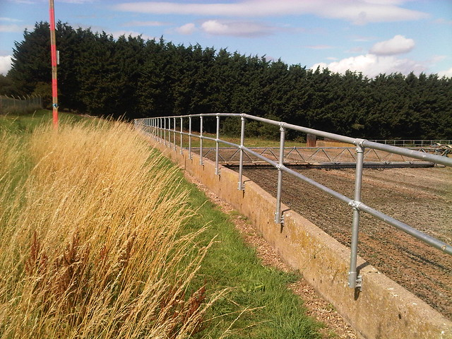 Kee Klamp Railing at Canwick Sewage Treatment Works