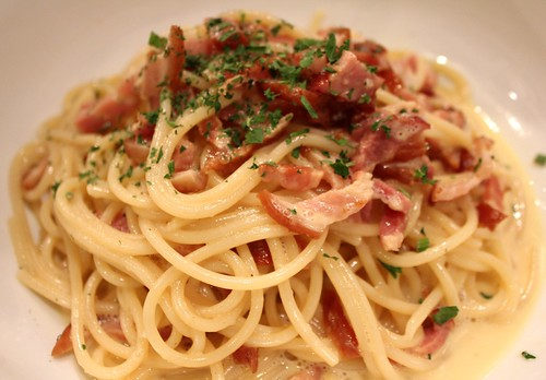 Carbonara at Fat Spoon