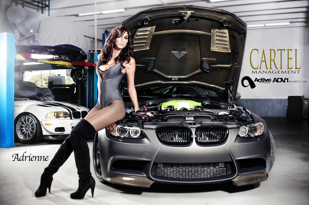 Cartel Management Active Autowerke ADV.1 BMW M3 Model Shot