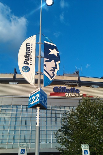 new Putnam signs at Gillette Stadium