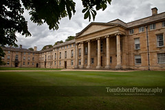 Downing College, Cambridge University (www.tomosborn.co.uk) Tags: old cambridge england london art architecture buildings photography ancient arch grand posh expensive downingcollege lavish tomosborn
