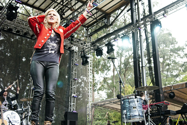 Ellie Goulding at Outside Lands Day 1