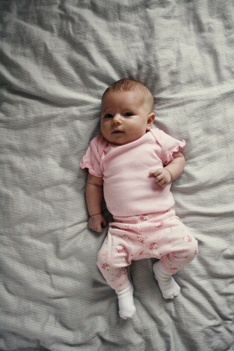 Audrey Eleanor: 8 Weeks Old