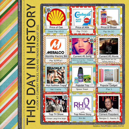 This Day In History - August 2011